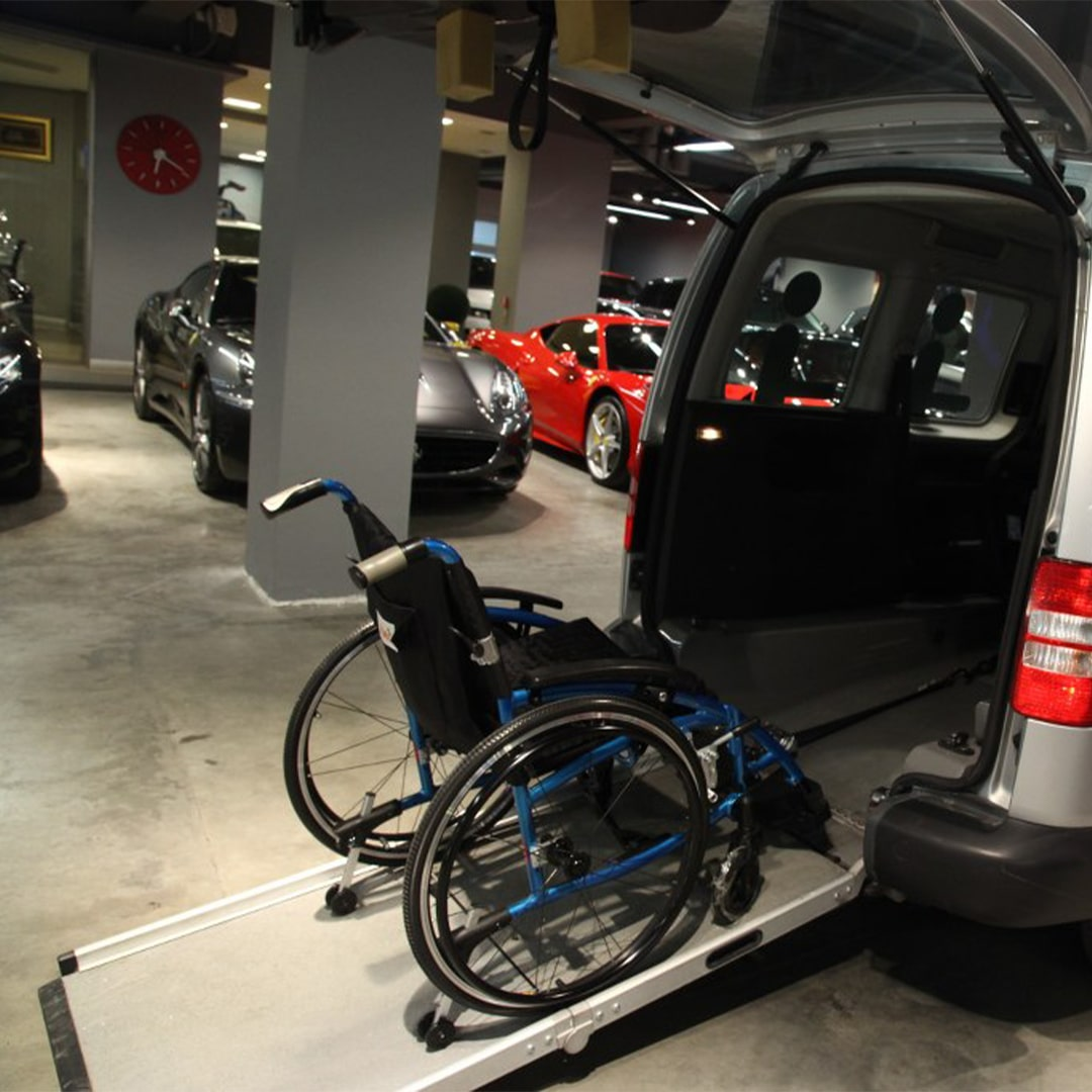 Tekerlekli Sandalye Rampaları (2)